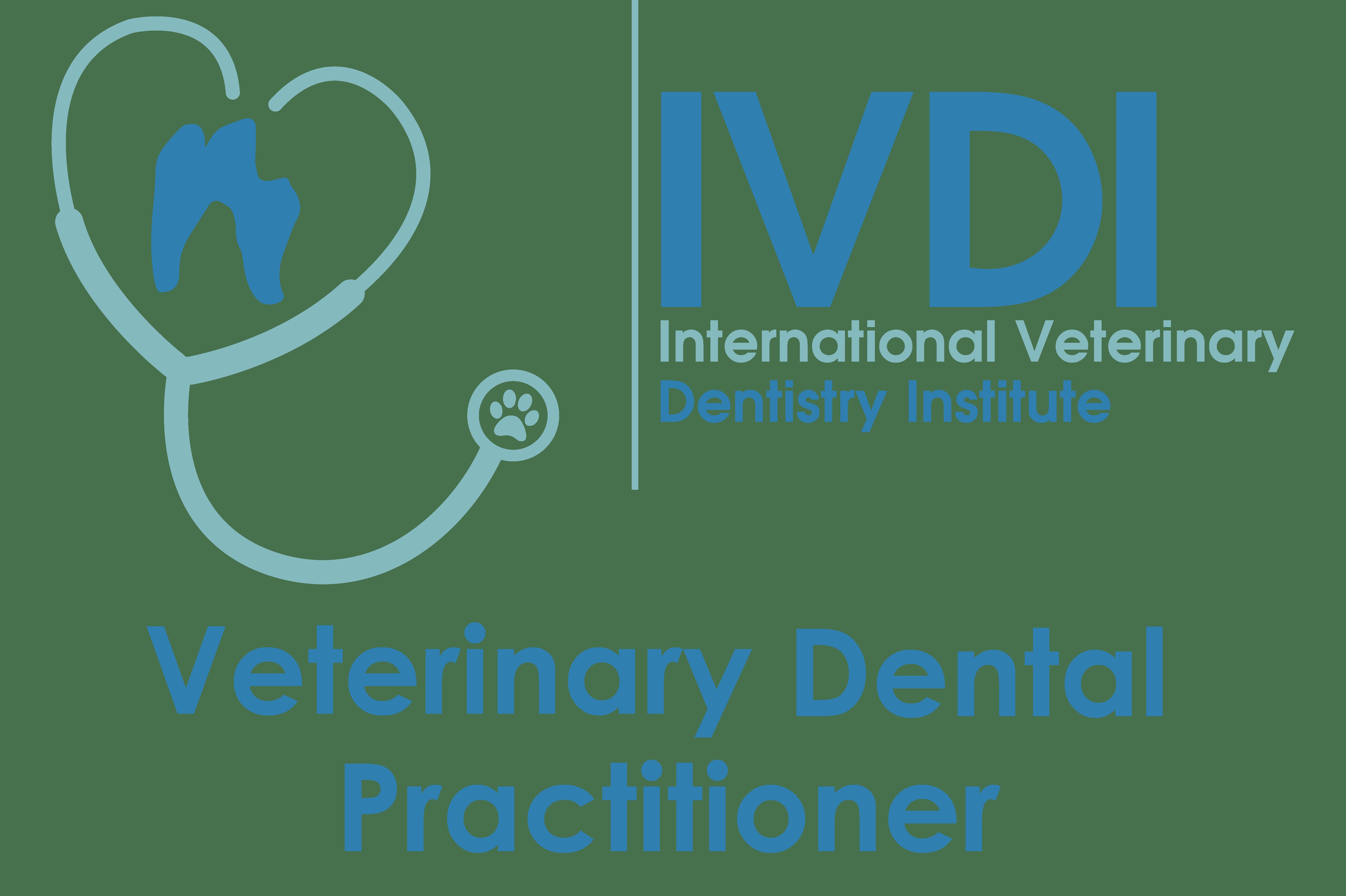 The Logo for International Veterinary Dentistry Institutes Veterinary Dental Practitioner program